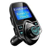 Best Adaptateurs de voiture - VicTsing Transmetteur FM sans fil Bluetooth Kit Main Review
