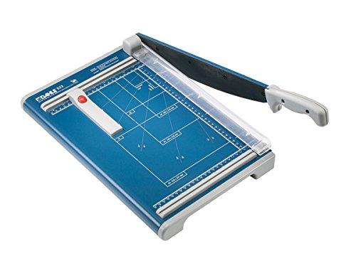 Dahle 533 Hebelschneidemaschine (285 x 450 mm, Schnittlänge 340 mm, Schnitthöhe 1,5 mm) 15 Blatt