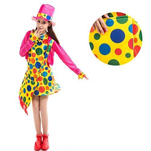 Amosfun 1 Set Costume Circus Clown Interessantes