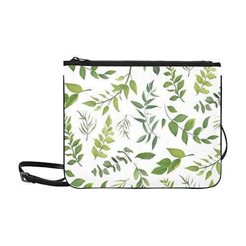 AGIRL Eukalyptus-Palmfarn Unterschiedliche kundenspezifische hochwertige Nylon-dünne Handtasche Umhängetasche Umhängetasche