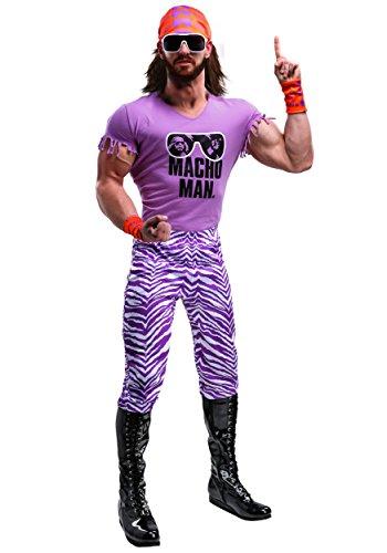 WWE Adult Macho Man Madness Fancy dress costume ()