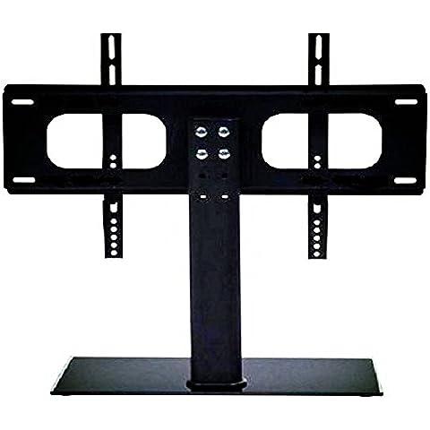 Panana® Soporte de TV para Pared Esquina Fijado Plasma LCD LED 3D Ultra Delgado Montaje para Televisor 37~55 Pulgadas Carga de 60kg 132lbs