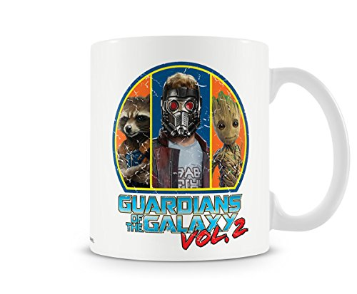 axy Vol. 2 - Keramik Tasse - Rocket - Starlord - Groot - Geschenkbox (Baby Pop Star Kostüm)