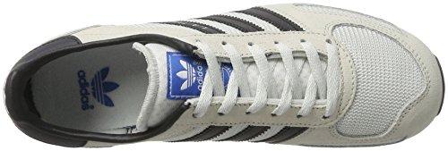 adidas la Trainer, Baskets Basses Mixte Enfant Beige (Vintage White/Core Black/Clear Brown)