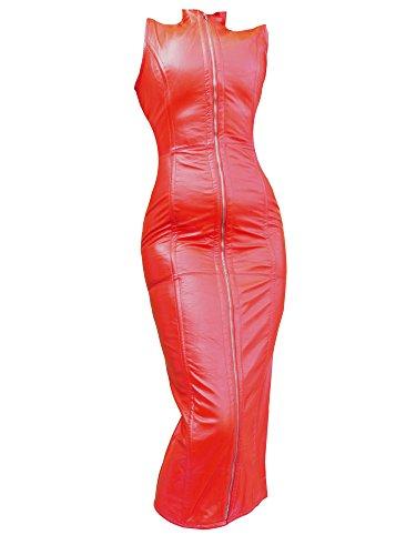 Lederkorsett Ledercorsage Bodyformer echtes Nappa Korsett Kleid RenasDreams 2279 (S)
