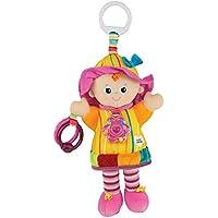 """Lamaze Baby Spielzeug """"Meine Freundin Emily"""" Clip & Go - hochwertiges Kleinkindspielzeug - Greifling Anhänger zur Stärkung der Eltern-Kind-Beziehung - ab 0 Monate"""