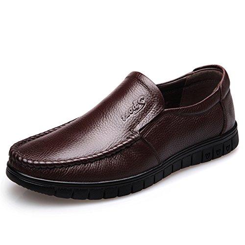 Business casual chaussures/Chaussure respirante du masculin/Chaussures d'Angleterreen cuir/Chaussures de foot B