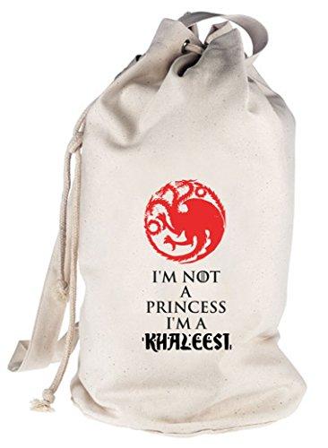 Serien bedruckter Seesack Umhängetasche mit I'm Not A Princess I'm A Khaleesi Motiv Natur