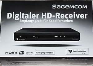 sagemcom kabel deutschland receiver dci85hd kd elektronik. Black Bedroom Furniture Sets. Home Design Ideas