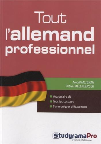 Tout l'allemand professionnel