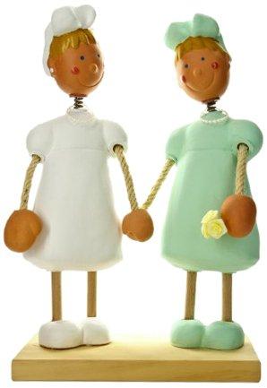 Jullar JC 403132 Kuchendekoration Brautpaar, zwei Frauen