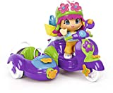 Pinypon – Mini-Puppe mit Motorrad (Famosa), 700014882, Mehrfarbig