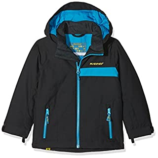 Ziener Kinder APLI jun (Jacket ski) Skijacke, Black, 152