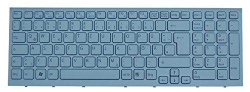 Original Tastatur Sony Vaio PCG-71811M Serie Weiss Neu DE - Weiß Laptop Vaio Sony