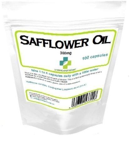 L'huile de carthame 300mg 100 capsules - alimentation, perte de poids, cholestérol, brûleur de graisse, minceur