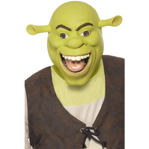 Gemz Fancy Dress Shrek Latex Mask by Gemz Fancy Dress