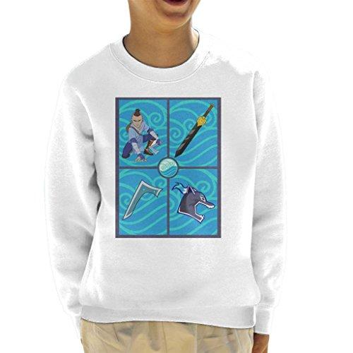 Cloud City 7 Avatar The Last Airbender Sokka Gear Kid's Sweatshirt
