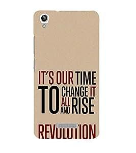 Change it to Rise 3D Hard Polycarbonate Designer Back Case Cover for Lava Iris Pixel V1