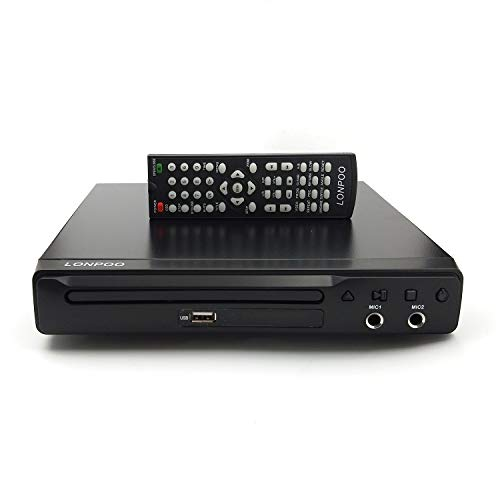 Reproductor DVD, LONPOO Reproductores DVD/CD HDMI