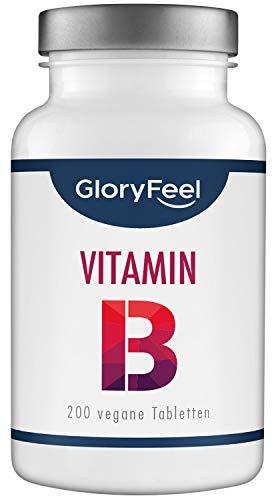 GloryFeel® Vitamin B Komplex Hochdosiert - VERGLEICHSSIEGER