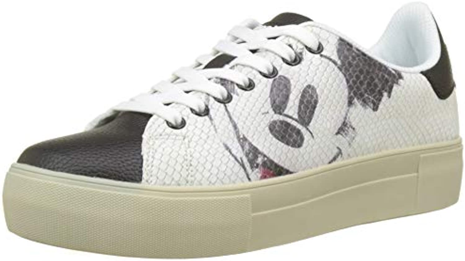Desigual Shoes_Star Mickey, Mickey, Mickey, Baskets Basses Femme 6f9539