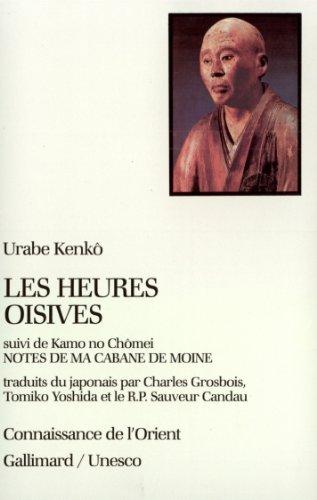 Les Heures oisives par Urabe Kenkô