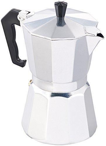 Cucina di Modena Kaffeekocher: Espressokocher für 6 Tassen, für Induktions-Herde geeignet, 300 ml (Manuelle Espresso Maschinen)