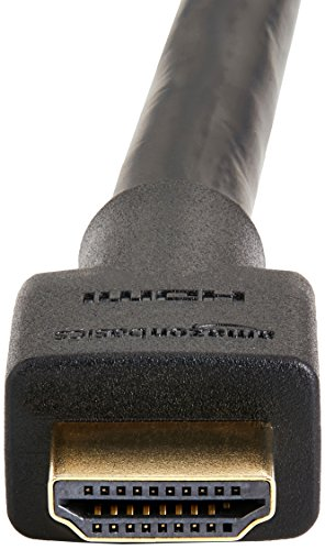AmazonBasics - Cavo HDMI 2.0 ad alta velocità, supporta Ethernet, 3D, video 4K e ARC, 3 m - Pacco da 2 (standard più recente)