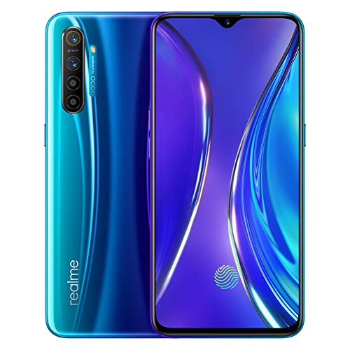 realme X2 8 GB 128 GB Smartphone Handy, 6,4 \'\' Snapdragon 730G 64MP Hawk Eye Quad Kamera NFC, Europäische Version (Blau)
