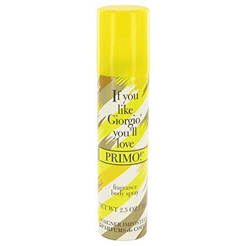 Parfums De Coeur Designer Imposters Primo Body Spray 2.5 oz / 75 ml (Women)