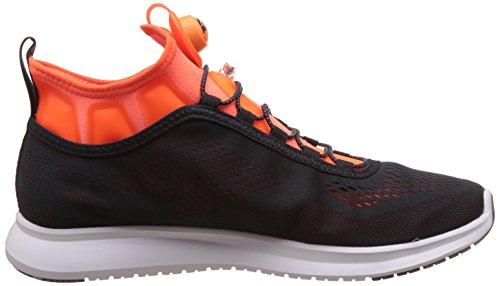 Reebok Pump Plus Tech, Scarpe da Trail Running Uomo Grigio (Lead / Wild Orange / White)