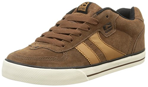 Globe Encore-2, Sneakers basses mixte adulte Marron - Braun (17253 dark brown)
