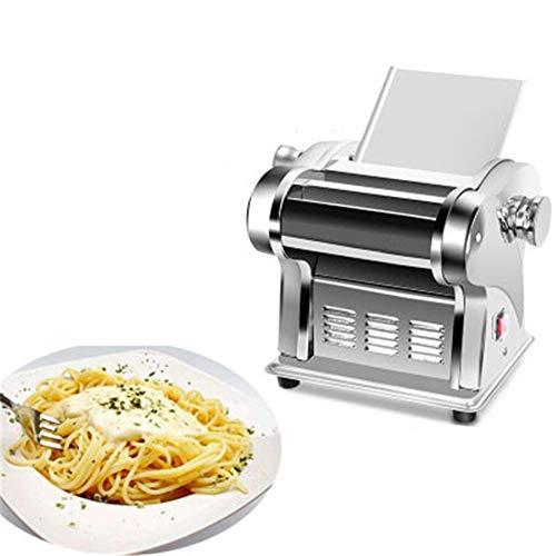 CRZJ Machines à pâtes manuelles Nouille Automatique électrique 135W de ménage Faisant la Machine, 22,2 * 21 * 19,5 cm