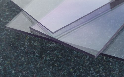 Polycarbonat UV Platte farblos 2050 x 1250 x 3 mm transparent, PC alt-intech® (Pc-platten)
