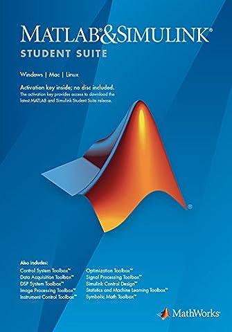 Suite De Logiciels - MATLAB and Simulink Student Suite