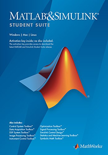 MATLAB and Simulink Student Version R2018a