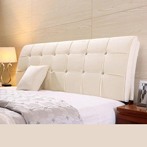 Dossier De Chevet Pure Color Bedhead Soft Protector Sac doux Double lit de couvre oreiller Design ergonomique Bedside Big Oreiller Lumbar 62 * 150cm (Couleur : I)