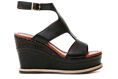 cafè noir khe125 ankle lace sandal