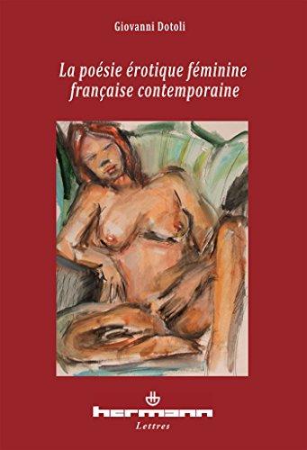 La poésie érotique féminine française contemporaine