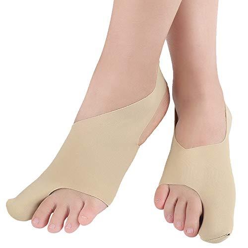 Gaoominy 1 Paar Big Toe Bunion Corrector Hallux Valgus Corrector Tag Nacht Daumen Korrektur Socken Fu?Pflege Gr??E S