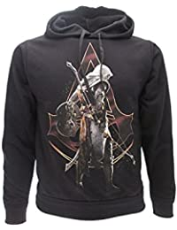 Assassins Creed Sweat-Shirt à Capuche - Homme Noir Noir 8f0492f4e477
