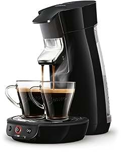 Senseo HD7829/60 Viva Café Kaffeepadmaschine (Kaffee Boost Technologie) schwarz