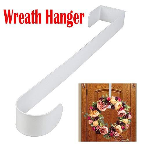 Metall Türhaken für Kränze, Hukz 15 Zoll Kranz-Aufhänger über die Tür, Wreath Hanger Weihnachtskranz Hanger Kranz-Haken Türkranz-Haken Kranz-Aufhänger Weihnachts-Kranzhaken Tür-Aufhänger