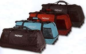 Reisetasche - Sporttasche mit 3 Rollen - nur 1,4kg - Schwarz - Dehnfalte - Volumen bis 140 Liter!