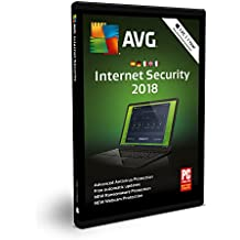 AVG Internet Security 2018 | 1 PC | 1 Año