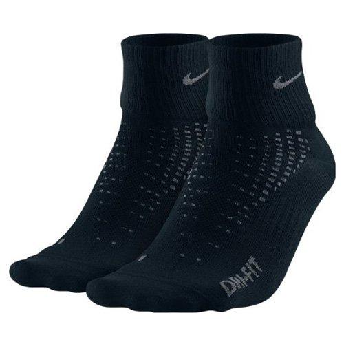 Nike Quarter Paire de 2 chaussettes Black/Nano Grey/Nano Grey/Nano Grey