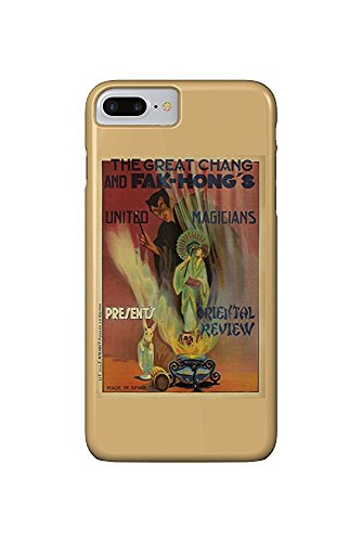 - Hong's - Oriental Review Vintage Poster Spain c. 1922 (iPhone 7 Plus Cell Phone Case, Slim Barely There) ()