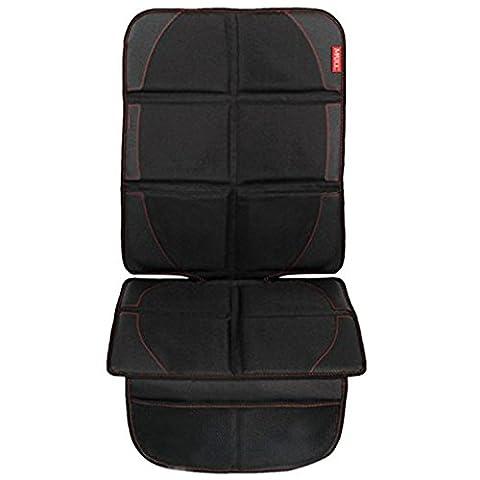 MATCC Car Seat Protector Mat with Storage Pockets Auto Seat