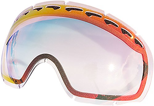 Zero Replacement Lenses For Oakley Crowbar Snow Goggle Ruby Clear by Zero
