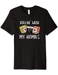 Rollin with my Homies I Sushi Reis Algen Japan Männer Frauen